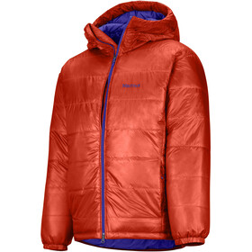 Marmot West Rib Insulated Parka Men victory red